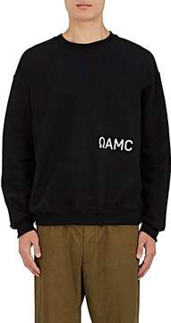 Oamc Men's Logo Cotton-Blend Sweatshirt