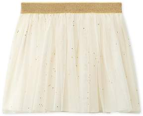 Petit Bateau Girls tulle skirt with stars