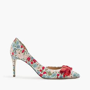 J.Crew Colette bow pumps in liberty® poppy and daisy floral