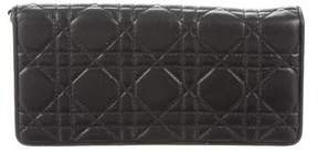 Christian Dior Cannage Wallet On Chain