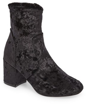 Very Volatile Women's Eclipse Velvet Sock Bootie