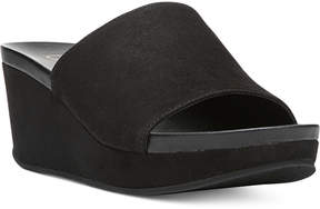 Carlos by Carlos Santana Delphina Wedge Slide Sandals Women's Shoes