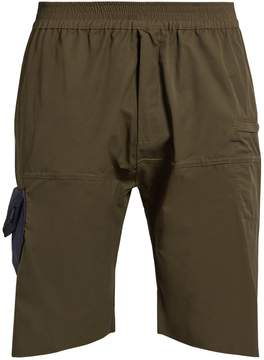 Longjourney Hangar patch-pocket cotton shorts