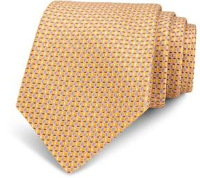 Bloomingdale's The Men's Store at Neat Linked-Circle Silk Classic Tie