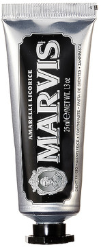 Marvis Travel Amarelli Licorice Mint.