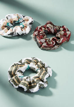 Anthropologie Imani Pony Holder Set