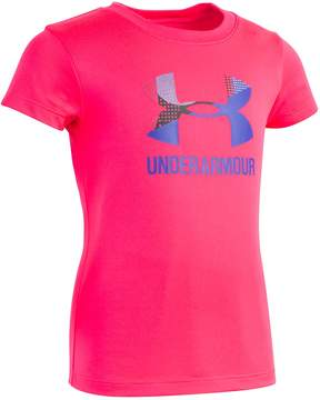 Under Armour Toddler Girl Logo Graphic Tee