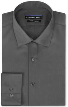 Geoffrey Beene Men's Fitted No-Iron Stretch Sateen Dress Shirt