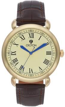 Croton Men's Heritage Leather Watch