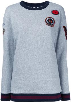 The Upside multi-patch sweatshirt