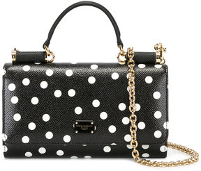 Dolce & Gabbana spotted mini Von crossbody bag
