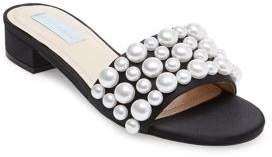 Betsey Johnson Poppy Slide-On Sandals
