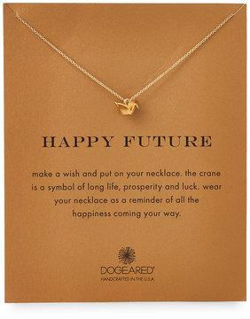 Dogeared Happy Future Origami Crane Necklace