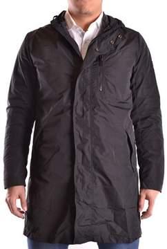Reign Men's Black Polyamide Coat.