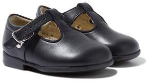 Start Rite Start-rite Navy Jo III Leather Buckle Shoes