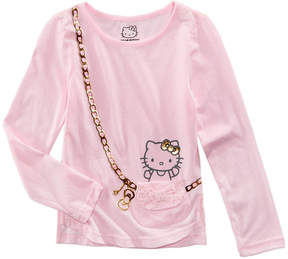 Hello Kitty Purse T-Shirt, Little Girls (4-6X)