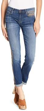 Driftwood Audrey Embroidered Straight Leg Jeans