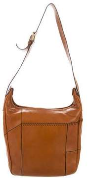 Chloé Leather Whipstitch Shoulder Bag