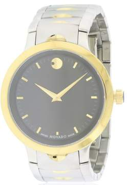 Movado Luno Two-Tone Stainless Steel Men's Watch, 0607043