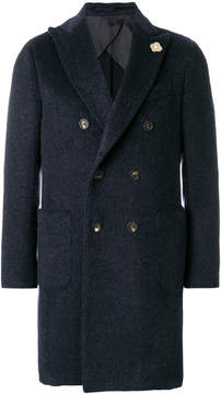 Lardini double-breasted coat