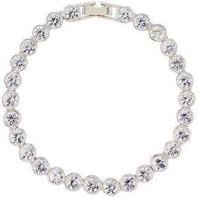 Fragments for Neiman Marcus Bezel-Set Crystal Tennis Bracelet, Silver