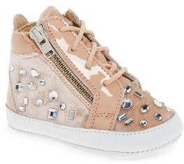 Giuseppe Zanotti Infant Girl's Veronica Embellished Sneaker