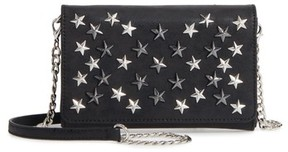 Women's Chelsea28 Alexa Stars Faux Leather Wallet On A Chain - Black