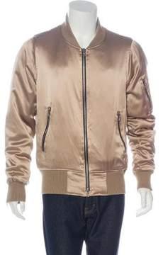 Amiri 2017 Charmeuse Bomber Jacket