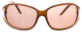Roberto Cavalli Tinted Rectangular Sunglasses