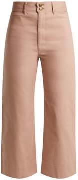 Apiece Apart Merida high-rise cropped jeans