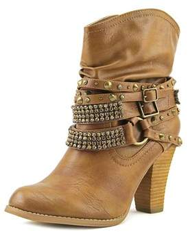 Not Rated Swalini Round Toe Synthetic Bootie.