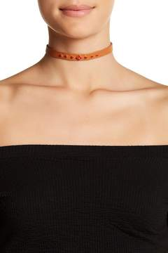 Chan Luu Embellished Leather Choker