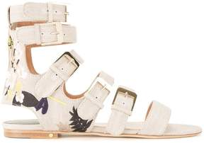 Laurence Dacade Tropical sandals