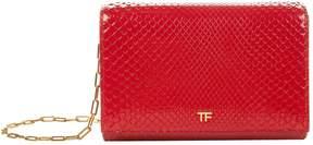 Tom Ford Python Patent Wallet Bag