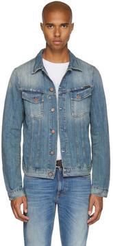 Nudie Jeans Blue Denim Billy Jacket