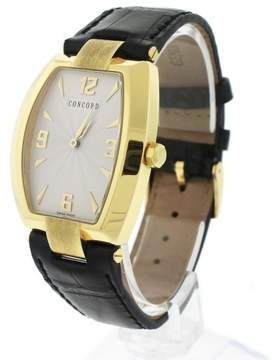 Concord La Scala 50.G3.1480 18K Yellow Gold Quartz 32mm Unisex Watch