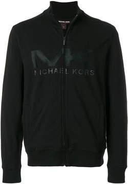 Michael Kors logo zip jacket