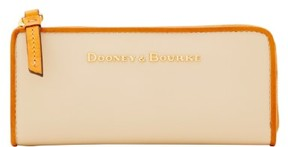 Dooney & Bourke City Zip Clutch Wallet - CREAM - STYLE