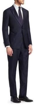 Giorgio Armani Textured Wool Suit