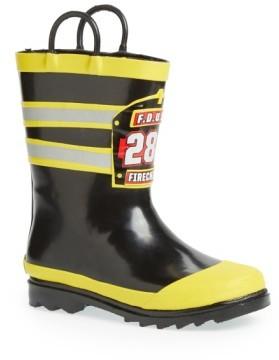 Western Chief Boy's 'F.d.u.s.a.' Rain Boot