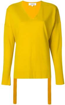 Enfold v-neck jumper