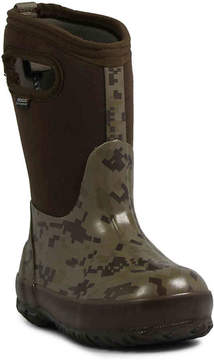 Bogs Boys Digital Camo Toddler & Youth Rain Boot
