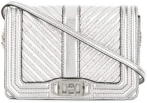 Rebecca Minkoff Chevron crossbody bag - METALLIC - STYLE