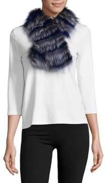Surell Fox Fur Scarf