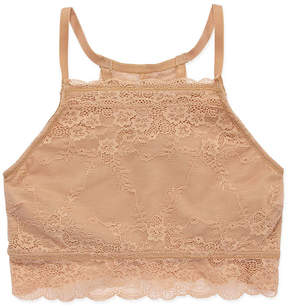 Maidenform Lace High-Neck Bra -- -Big Kid Girls