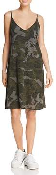 ATM Anthony Thomas Melillo Camo Slip Dress