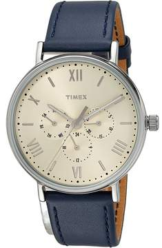 Timex Southview 41 Multifunction Leather Strap Watches