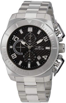 Invicta Pro Diver Chronograph Black Dial Men's Watch