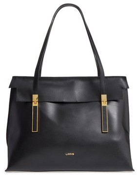 Lodis Silicon Valley - Lorrain Rfid Leather Satchel - Black