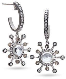 Coomi Affinity Smoky Quartz & Diamond Earrings